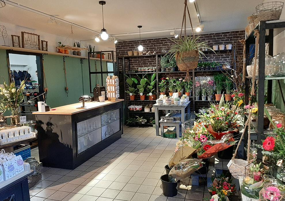 Bloemrijk Ruinen - onze winkel